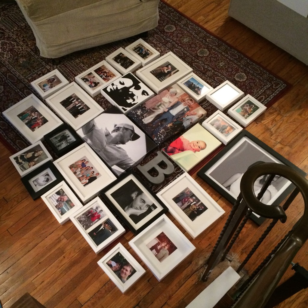 pictures on the floor