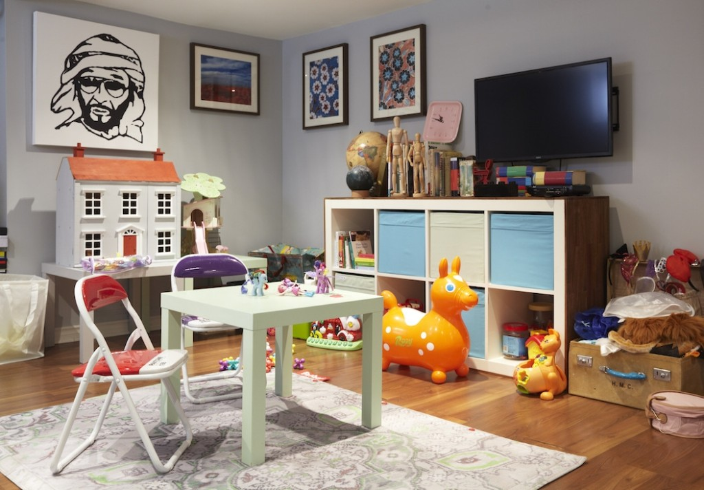 playroom Ikea ektorp hack