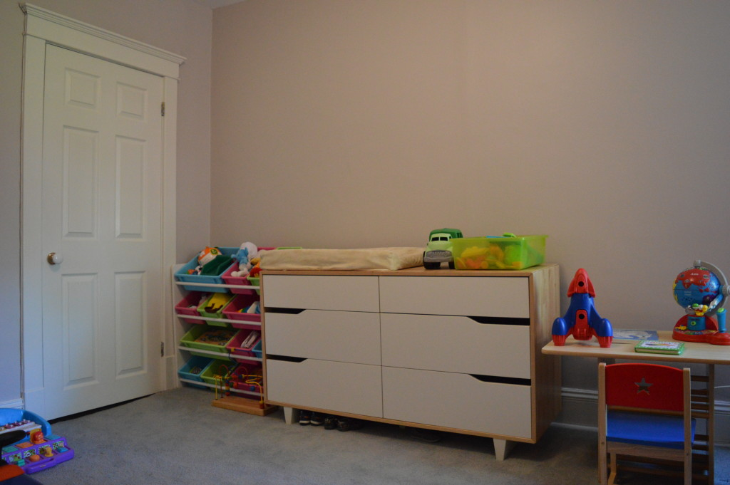 Before boy nursery