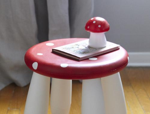Ikea hack toodstool stool