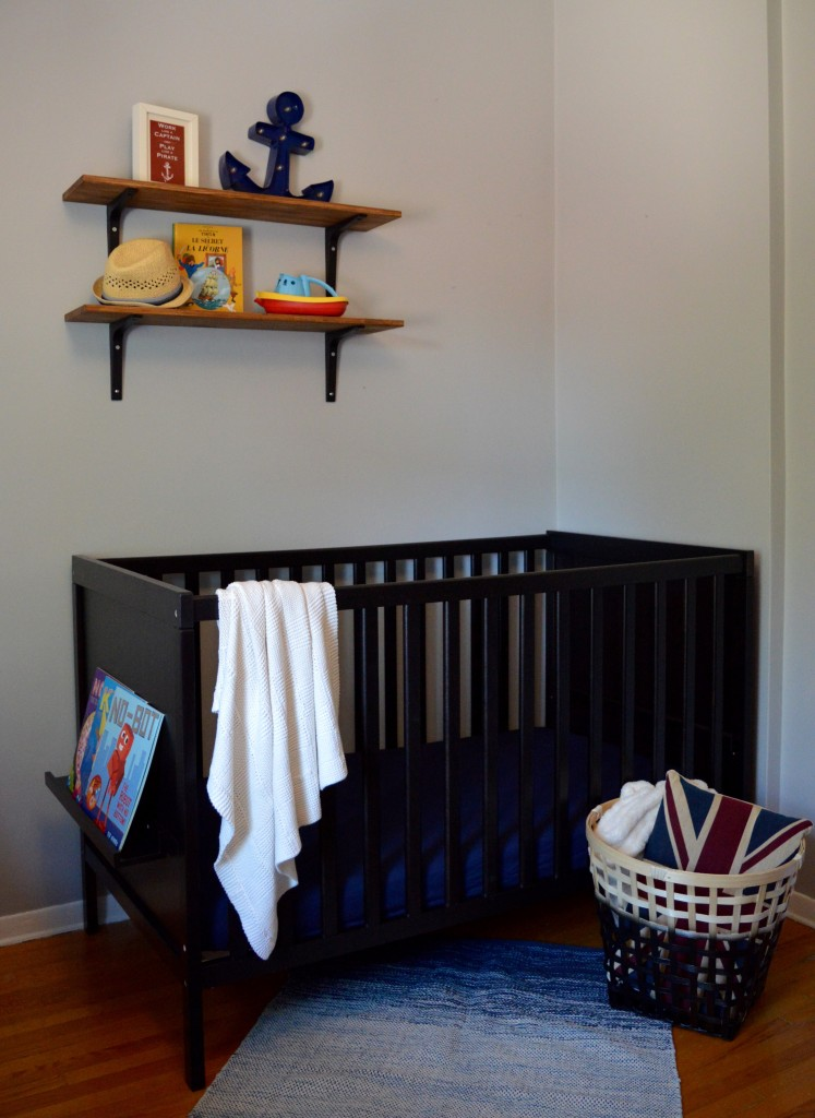 boy nautical nursery ikea crib cot