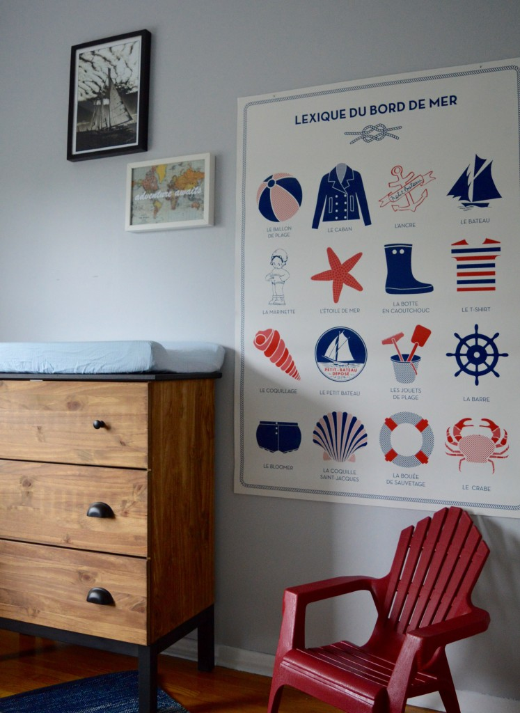 boy nautical nursery muskoka chair