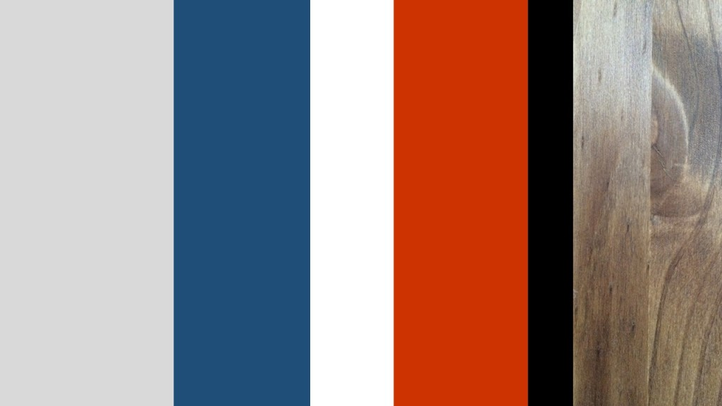 Boy nautical nursery colour chart