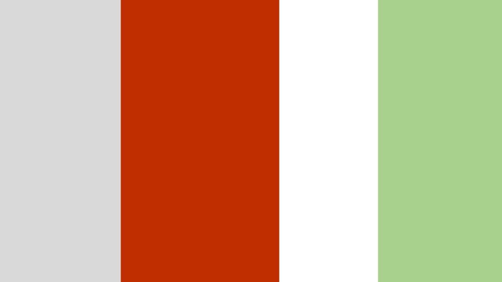 girl woodland nursery colour chart