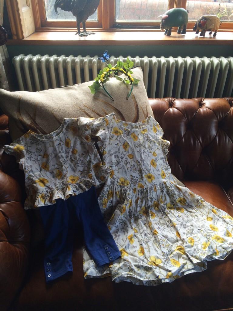 woodland party NEXT dresses