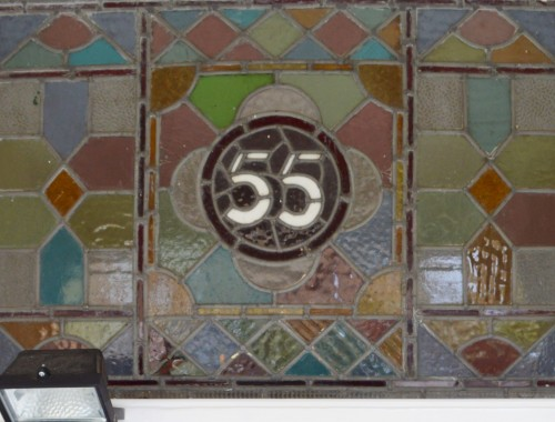 55 stained glass window