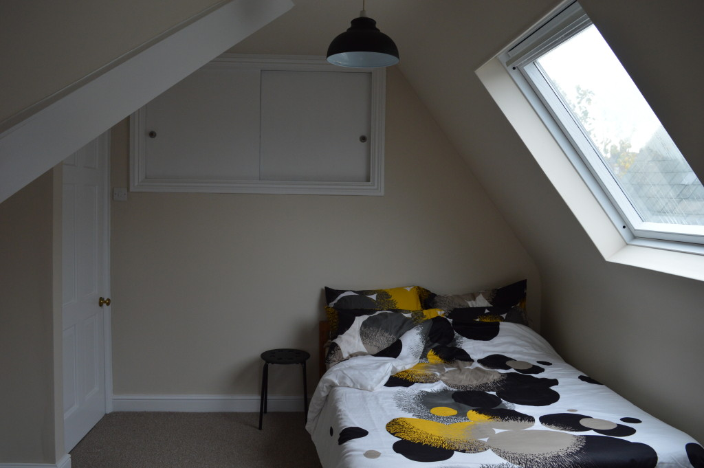 after brixton london flat bedroom