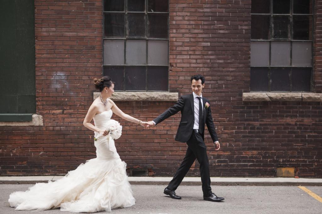 wedding photo before