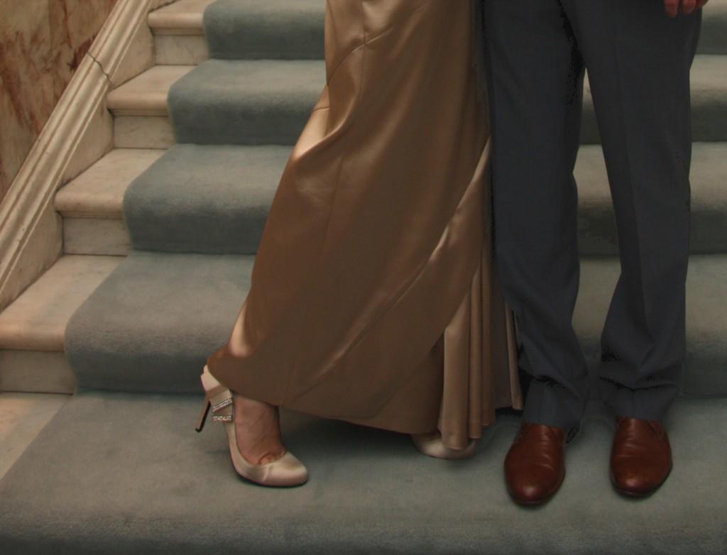 wedding photo cropped by Adam Davies