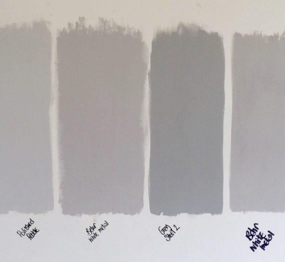 My 50 shades of grey