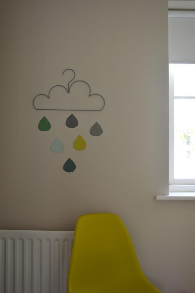 cloud hanger rain art eames olive