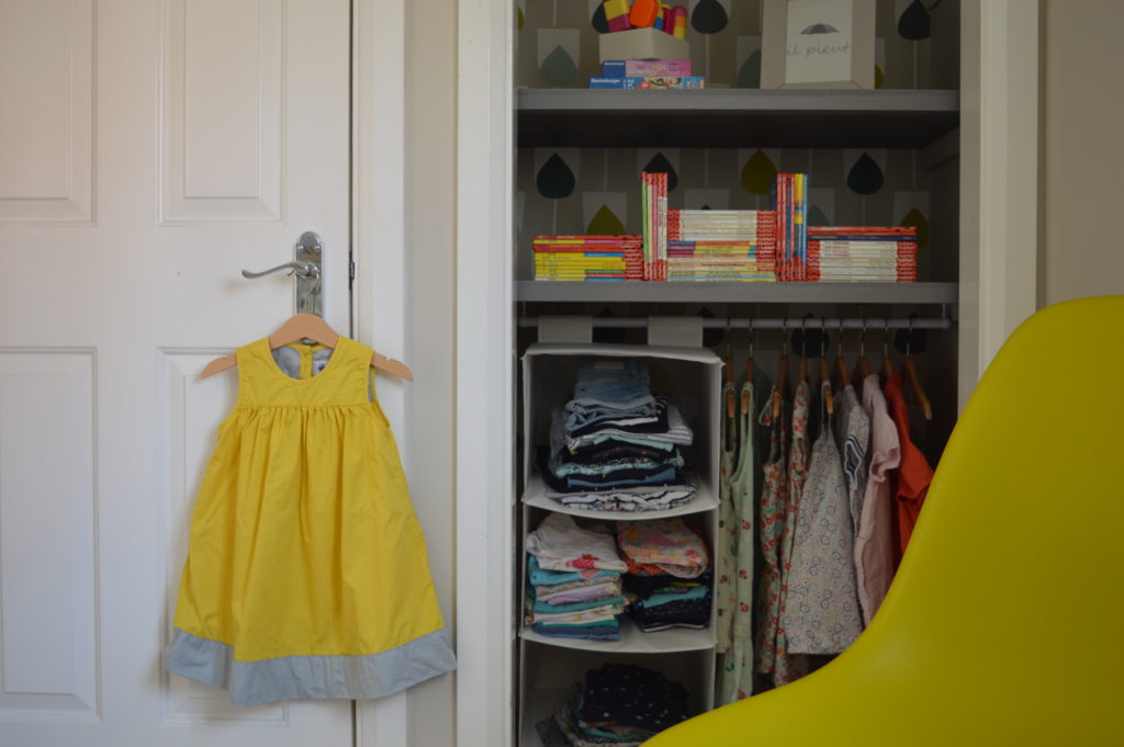 open wardrobe Ladybird books