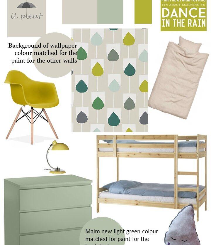 Il pleut styleboard