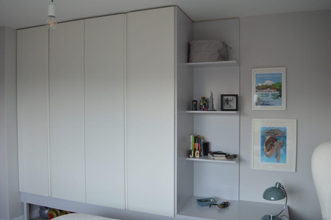 IKEA PAX built in wardrobe