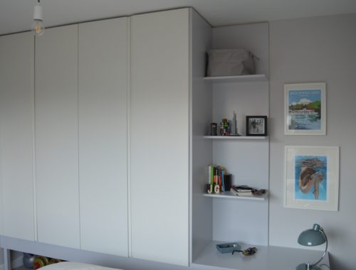 IKEA PAX built in wardrobe