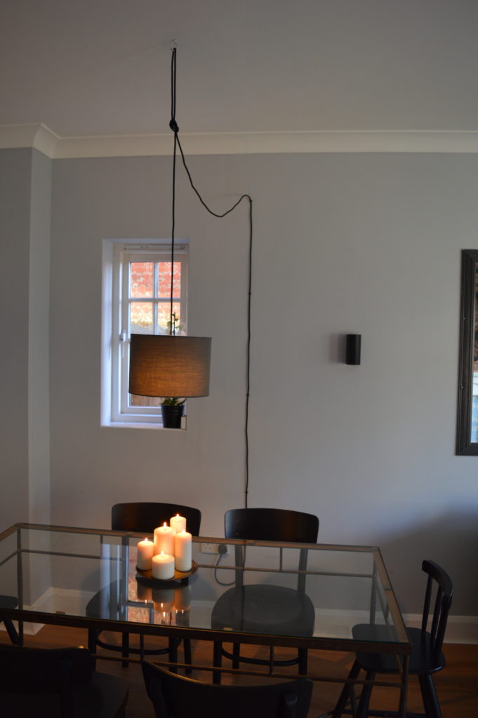 After dinning room pendant light creative cables