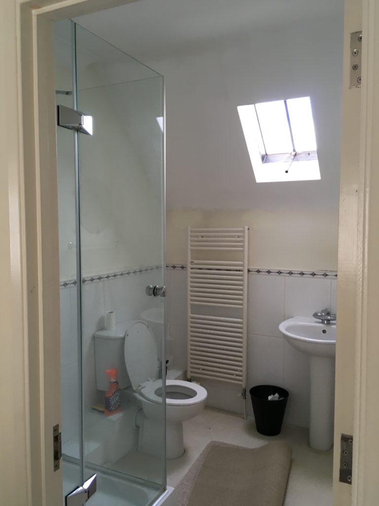 Before master ensuite