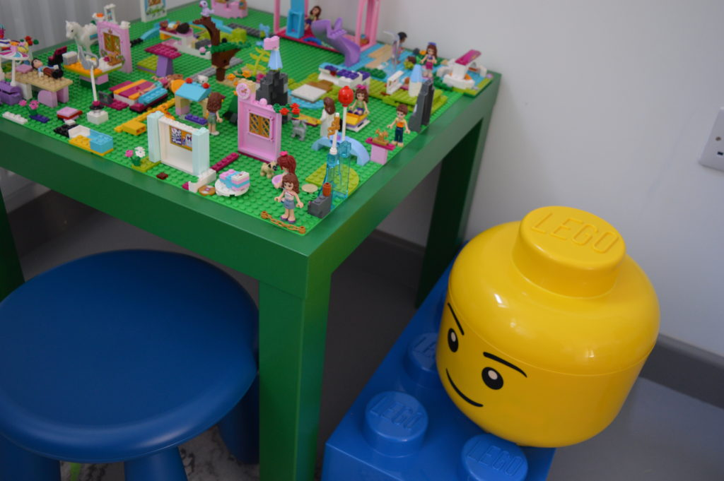 Ikea lack hack lego table