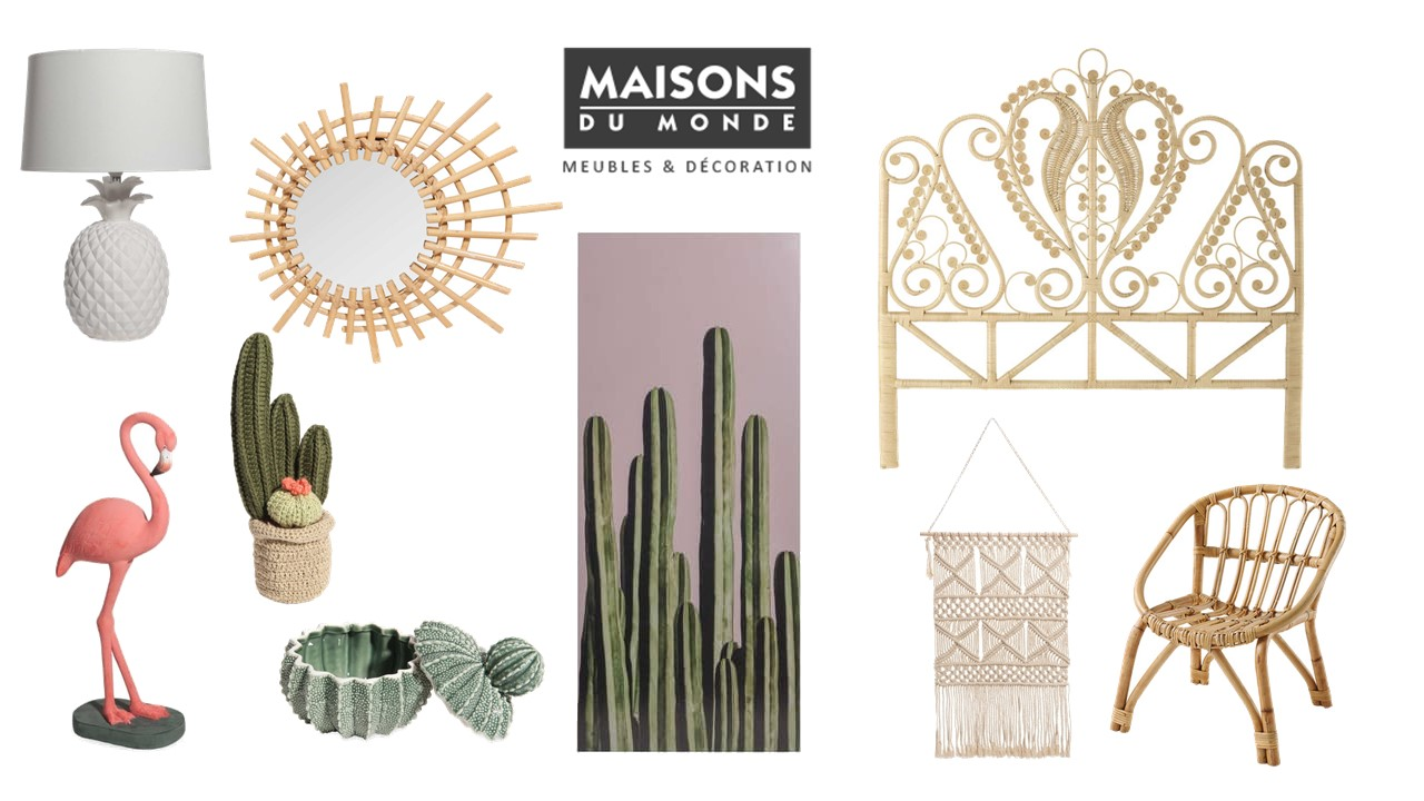 Maisons du monde home made productions for Maison du monde