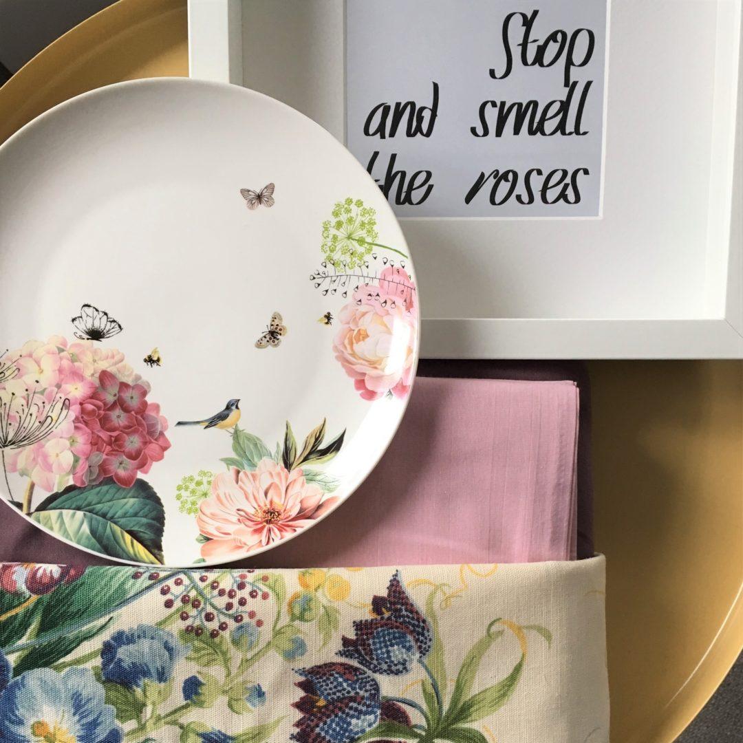 Palette Rose themed girl bedroom