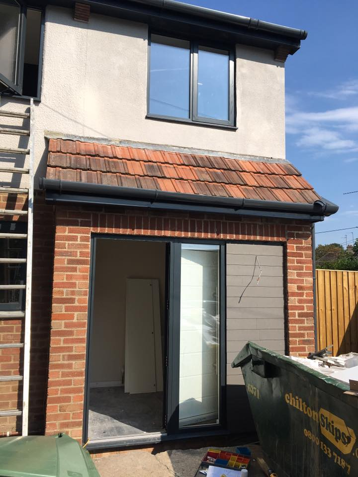 House exterior Sandtex plymouth grey