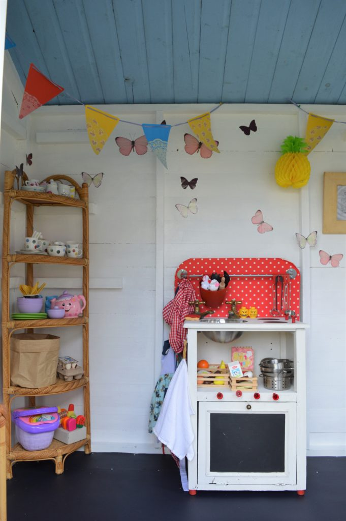 Garden shed playhouse