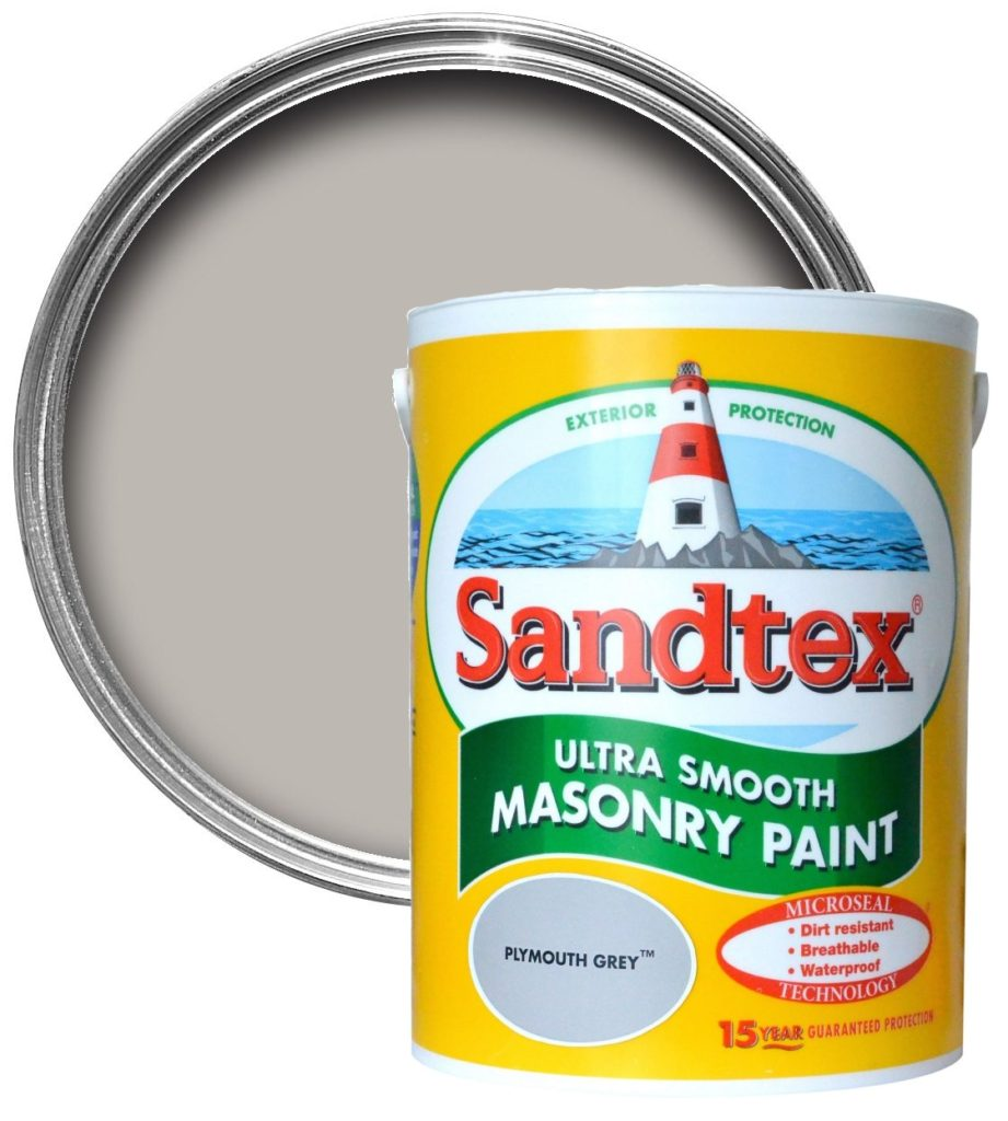 Sandtex plymouth grey