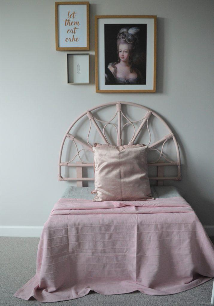Marie Antoinette tween bedroom