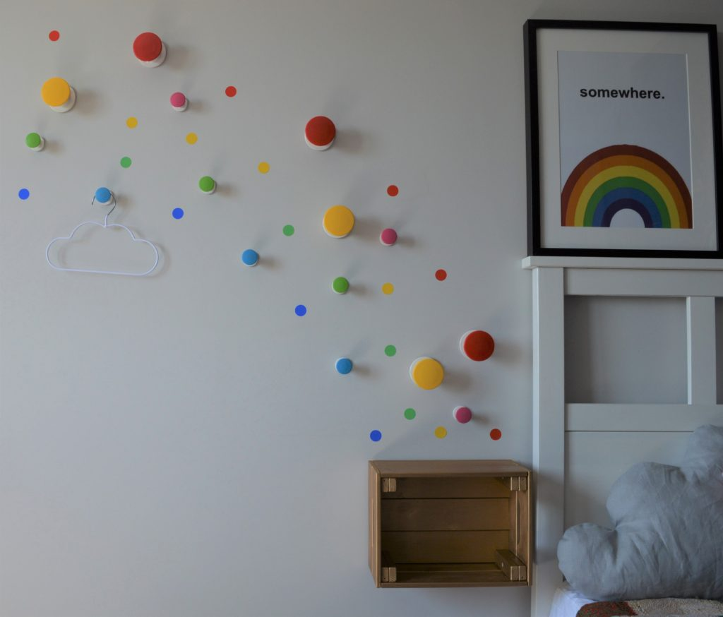 Over the rainbow bedroom