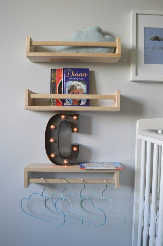 C is for cloud nursery Ikea BEKVAM