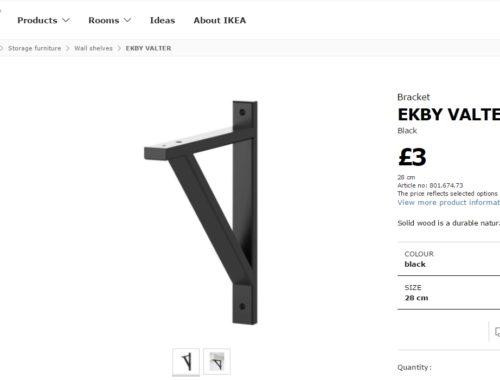 IKEA EKBY VALTER