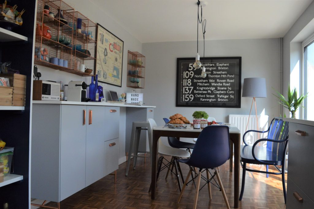 VEDDINGE grey kitchen