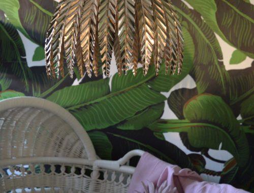 Banana leaves nursery