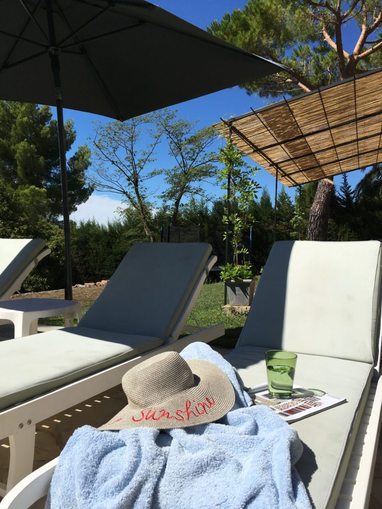 French house sun lounger