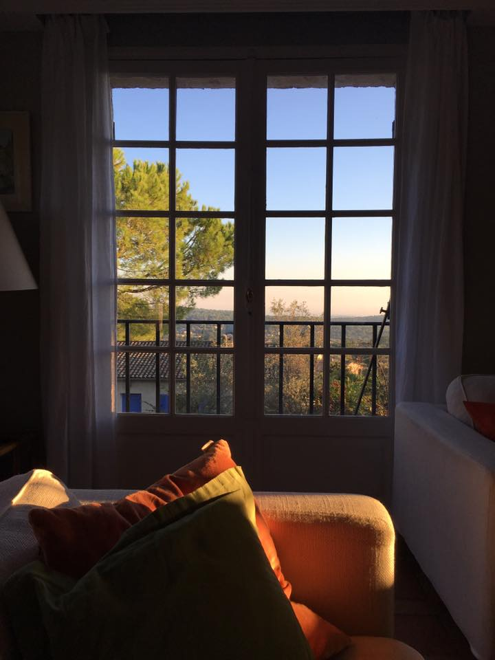 French house Sitting room window