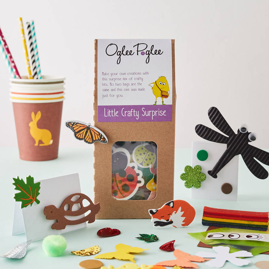 Oglee Poglee woodland craft party bag