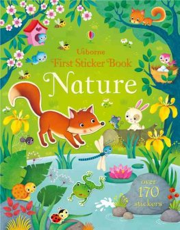 Usborne First Sticker Book Nature