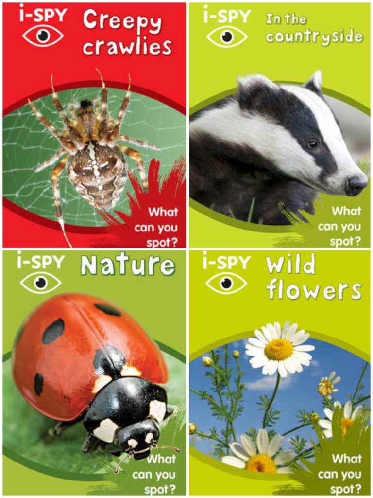 iSpy books nature