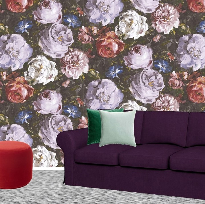 Pantone Ultra Violet Sitting room lounge Bemz