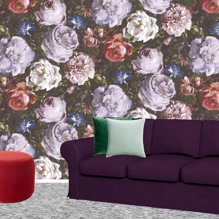 Pantone Ultra Violet Sitting room lounge Bemz