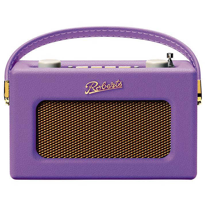 ROBERTS Revival Uno DAB FM Digital Radio Purple