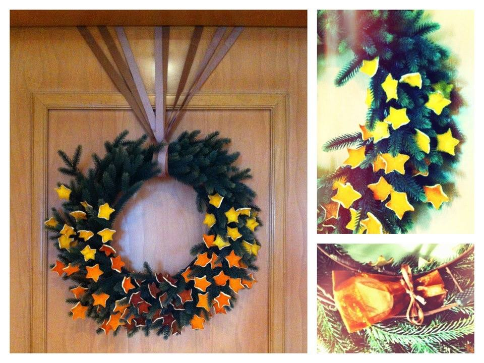 DIY Christmas wreath