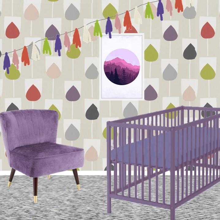 Pantone Ultra Violet Nursery