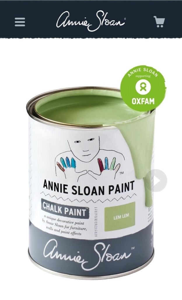 Annie Sloan Lem Lem Oxfam Chalk paint