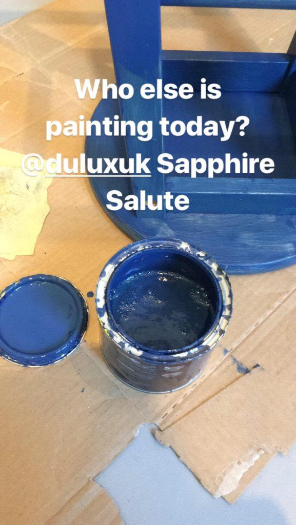 Dulux Sapphire Salute