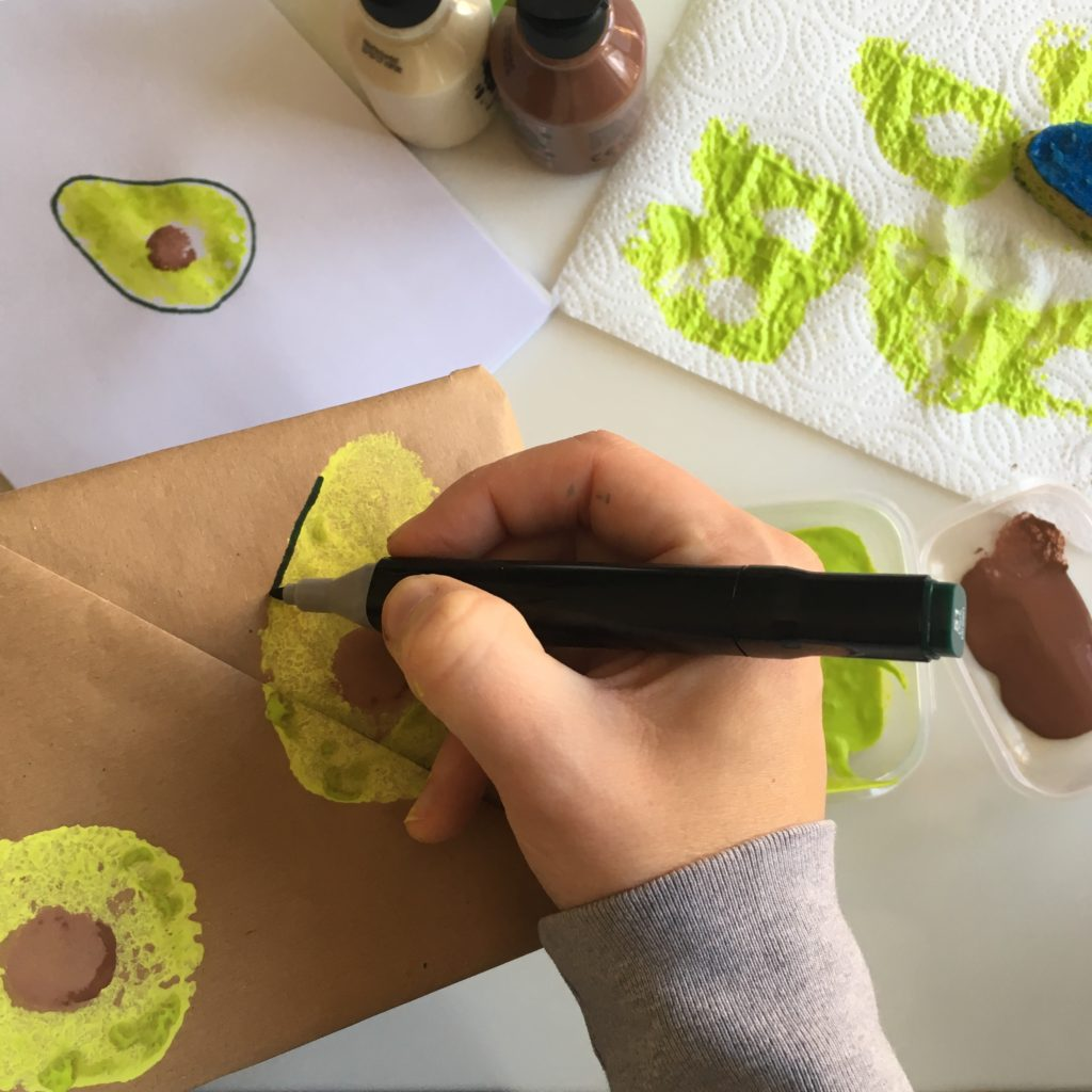Sponge stamping