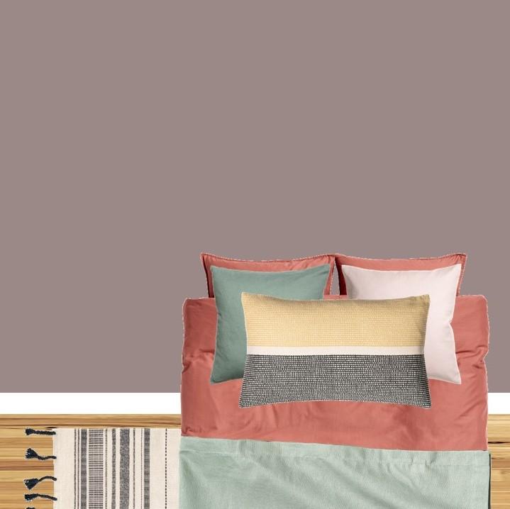 Dulux Heart Wood styleboard bedroom
