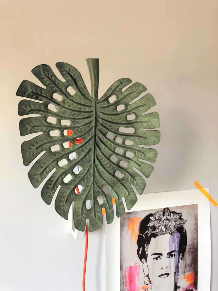 Sugru monstera ikea hack light