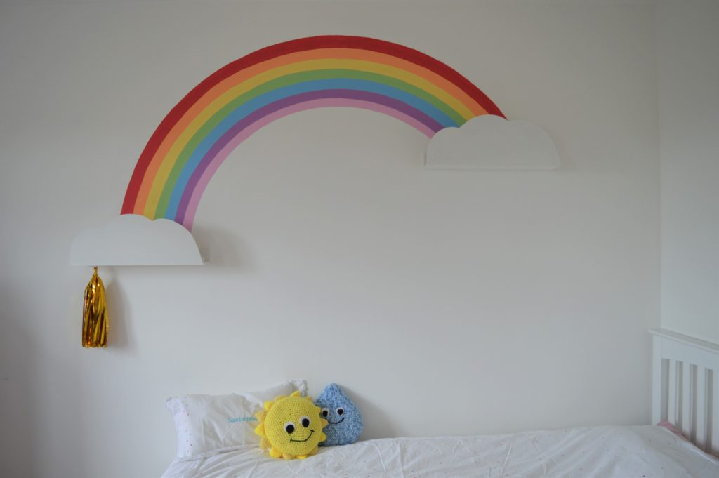 Valspar paint rainbow