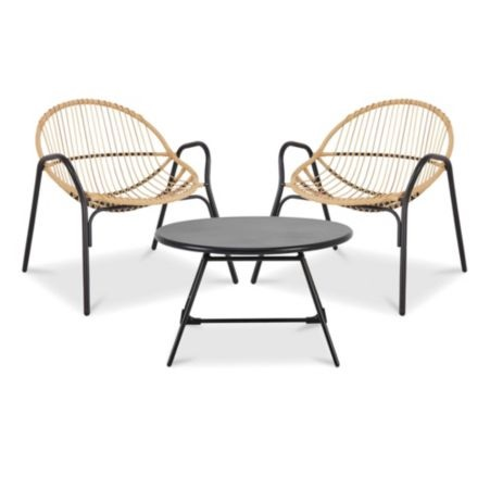 B&Q CUBA 2 SEATER COFFEE SET